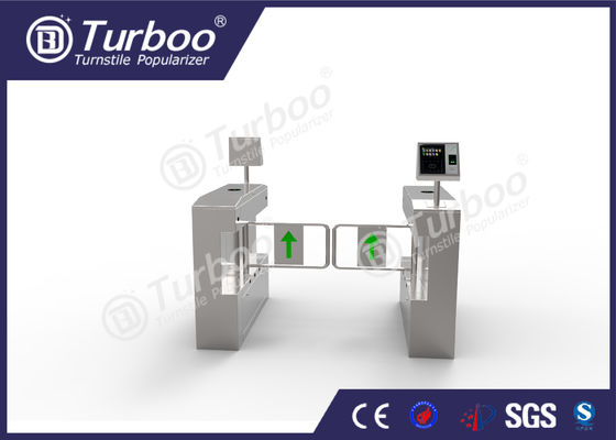 High End Intelligent Swing Barrier Gate For Security Access Management