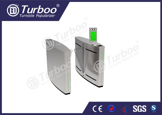 Anti - Temperature Flap Barrier Turnstile With Automatic Reset Function